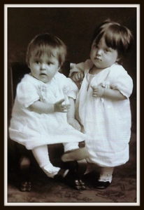 Adaline & Eleanor - born October 2, 1913