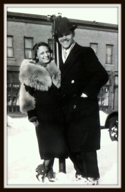My stylish grandparents.
