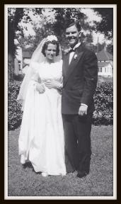 My grandparent's wedding day.
