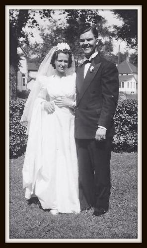 My grandparent's wedding day.