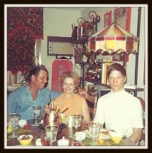 My dad with his parents.